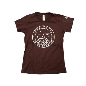 The-Trail-Is-My-Stadium-Shirt-Brown-W
