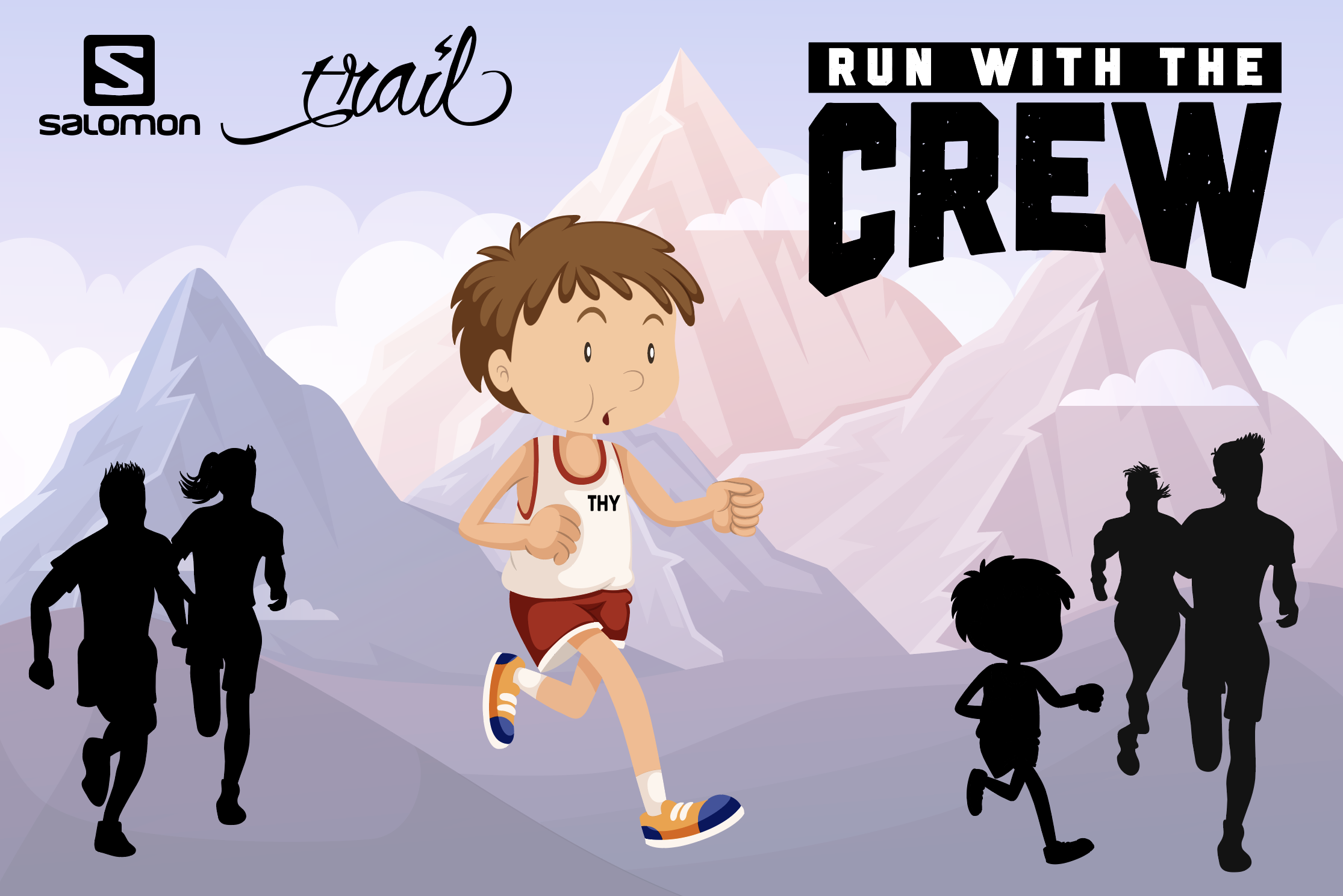 RUN WITH THE CREW: die Serie geht mit 3 Communitytrails weiter!