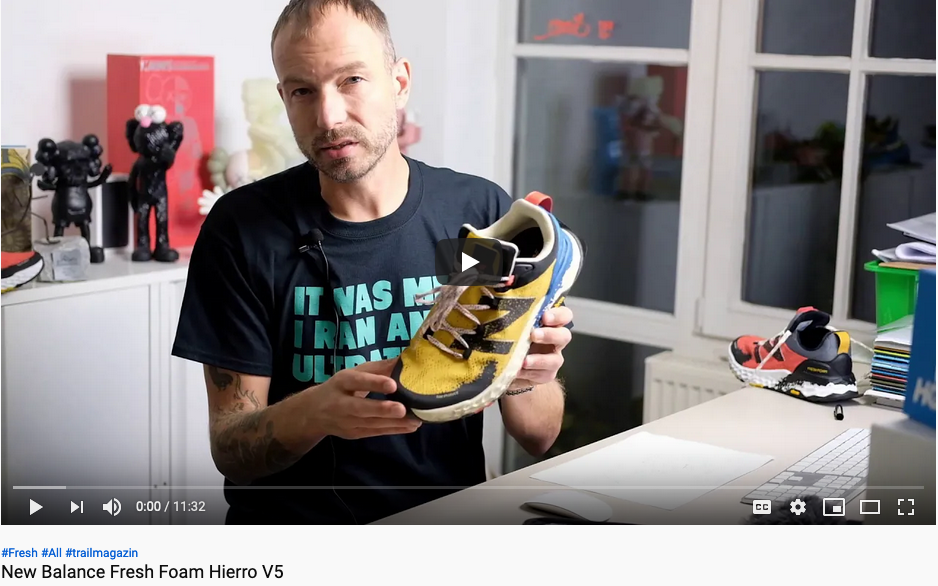 Der neue New Balance Fresh Foam Hierro V5 im Testvideo by Trail