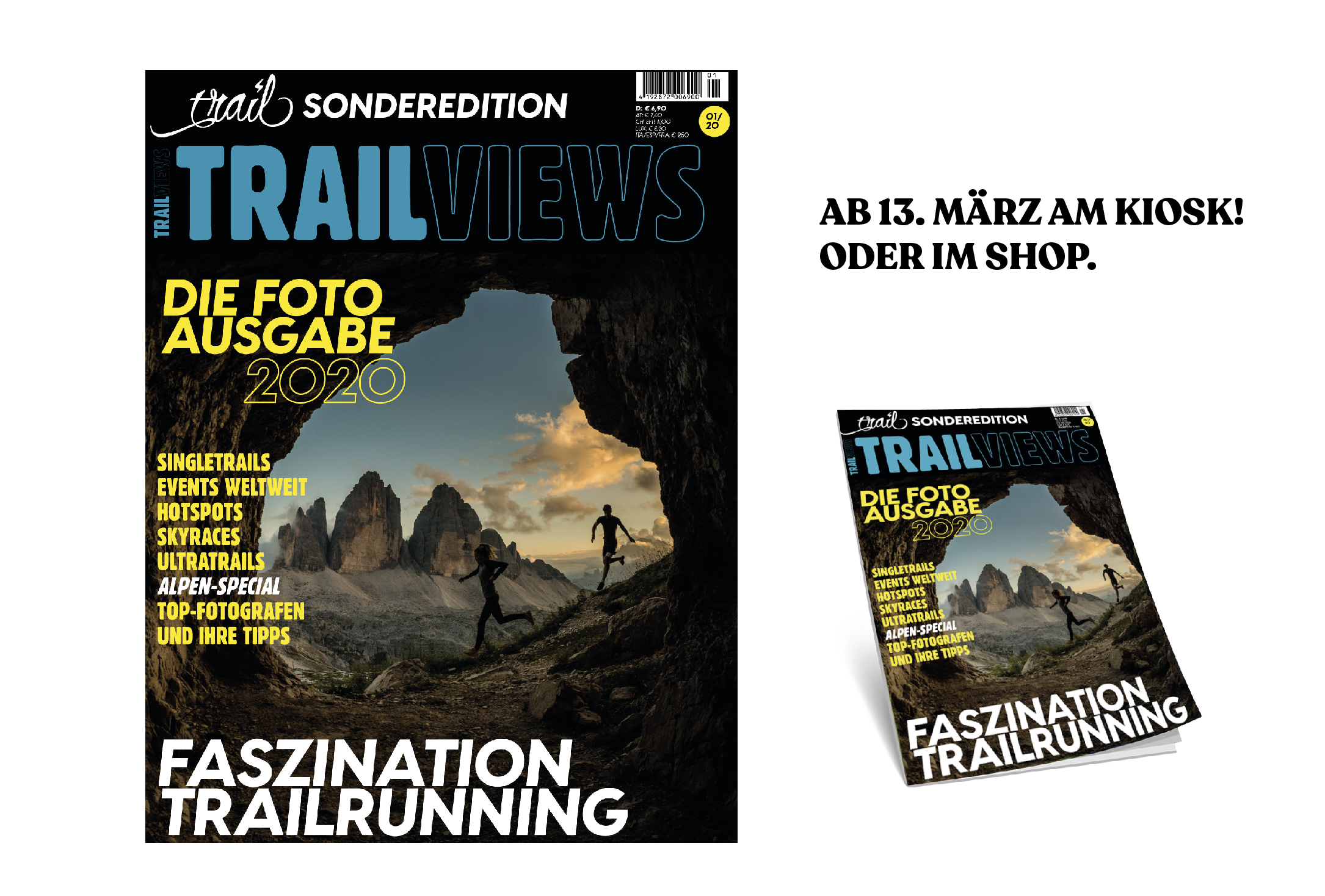"TRAILVIEWS – die Sonderausgabe ""Faszination Trailrunning"" ab 13. März am Kiosk"